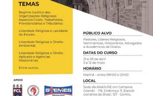 Liberdade Religiosa e Legislação aplicada às igrejas 2018