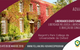 Oxford Advanced Studies Program em Liberdades Civis Fundamentais 2018