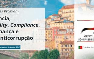 Treinamento Avançado em Ténicas Internacionais de Transparência, Compliance e Anticorrupção 2017
